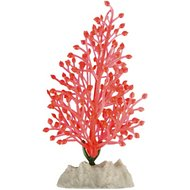 GloFish Aquarium Plant, Orange, Small