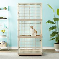 IRIS 3-Tier Cat Cage, Tan