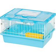 IRIS Wire Hamster Cage, Blue