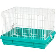IRIS Wire Small Animal Cage, Green