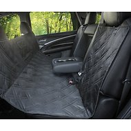 Parachute Pet Products Bench Car Seat Cover with Console Opening, Black