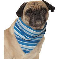 Cool Pup Insect Shield Striped Dog Bandana, Small