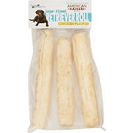 Pure & Simple Pet Chicken Flavored Rawhide Retriever Roll Dog Treat, Large, 3 count