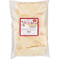 Pure & Simple Pet Chicken Flavored Rawhide Chew Flips Dog Treat, 1-lb bag