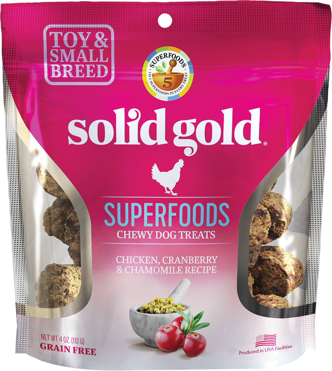Solid Gold Superfoods Chicken Cranberry Chamomile Recipe Small