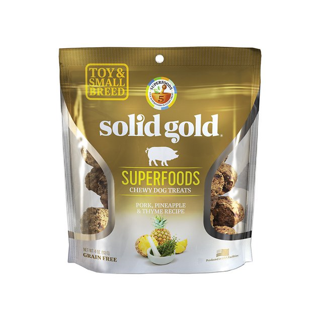 Solid Gold Superfoods Pork Pineapple Thyme Recipe Small Breed