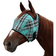 Kensington Protective Products Signature Fly Horse Mask, Black Ice, Large