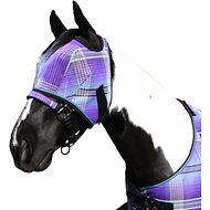 Kensington Protective Products Signature Fly Horse Mask, Lavender Mint, Large