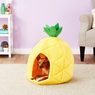 YML Pineapple Dog & Cat Bed House, Medium