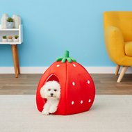 YML Strawberry Dog & Cat Bed House, Small