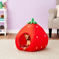 YML Strawberry Dog & Cat Bed House, Medium