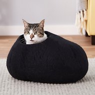 Earthtone Solutions Gotham Kitty Natural Wool Cat Cave Bed