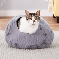 Earthtone Solutions Mystical Den Natural Wool Cat Cave Bed