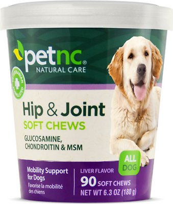 4. PetNC Natural Care Hip & Joint Mobility Support Dog Supplement