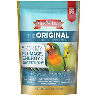 The Missing Link Ultimate Avian Formula Powder Supplement, 3.5-oz bag