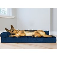 FurHaven Plush Deluxe Chaise Orthopedic Cat & Dog Bed w/Removable Cover