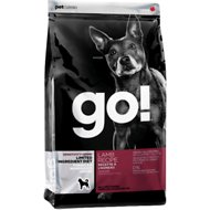 Go! Sensitivity + Shine LID Lamb Recipe Grain-Free Dry Dog Food, 25-lb bag