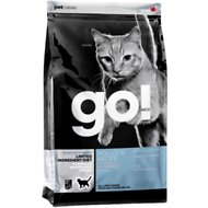 Go! Sensitivity + Shine LID Pollock Recipe Grain-Free Dry Cat Food, 8-lb bag