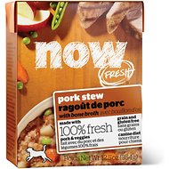Now Fresh Grain-Free Pork Stew Wet Dog Food, 12.5 oz, case of 12