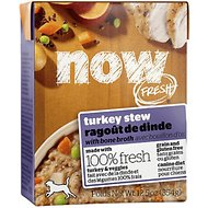 NOW FRESH Grain Free Turkey Stew, 12.5 oz, case of 12