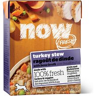 Now Fresh Grain-Free Turkey Stew, 12.5 oz, case of 12