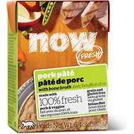 Now Fresh Grain-Free Pork Pate Wet Cat Food, 6.4 oz, case of 24