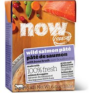 Now Fresh Grain-Free Wild Salmon Pate Wet Cat Food, 6.4 oz, case of 24