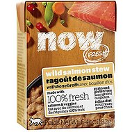 Now Fresh Grain-Free Wild Salmon Stew Wet Cat Food, 6.4 oz, case of 24