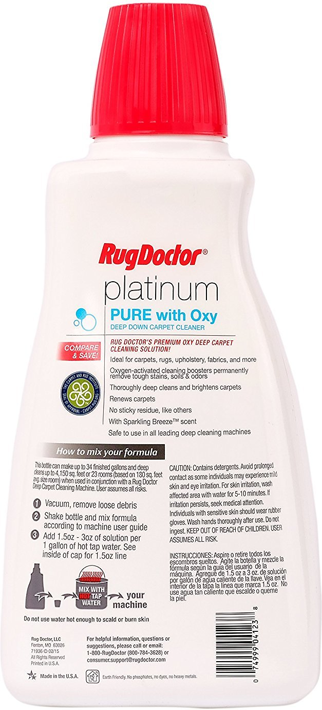 pics Rug Doctor 52 oz. Platinum PURE with Oxy Carpet Cleaner