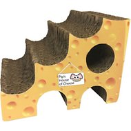 Imperial Cat Play 'N Shapes Cheese Small Animal Hideout, Small