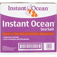 Instant Ocean Aquarium Sea Salt, 200-gal