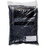 Exotic Pebbles Polished Black Gravel, 20-lb bag