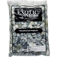 Exotic Pebbles Polished Jade Pebbles, 20-lb bag