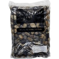 Exotic Pebbles Polished Mixed Pebbles, 20-lb bag