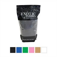 Exotic Pebbles Decorative Sand, Black, 5-lb bag