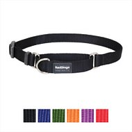 Red Dingo Martingale Classic Dog Collar, X-Small, Black