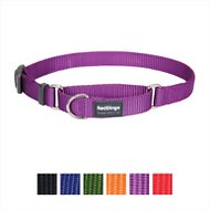 Red Dingo Martingale Classic Dog Collar, Purple, Medium