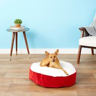 Happy Hounds Scout Deluxe Dog Bed, Crimson, X-Small