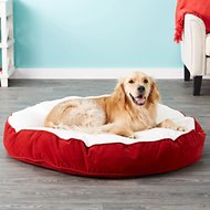 Happy Hounds Scout Deluxe Dog Bed, Crimson, Large