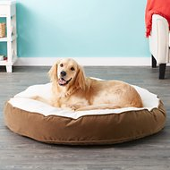 Happy Hounds Scout Deluxe Dog Bed, Latte, Large