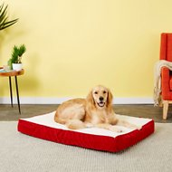 Happy Hounds Oscar Orthopedic Dog Bed, Crimson, Medium