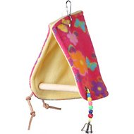 Super Bird Creations Peekaboo Perch Bird Tent, Color Varies, Medium