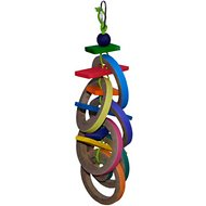 Super Bird Creations Olympic Rings Bird Toy