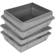 Hometec Lift N' Sift 4 Piece System Litter Tray