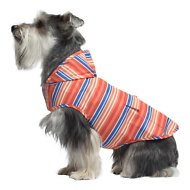 Canada Pooch Dog Raincoat, 12, Stripes