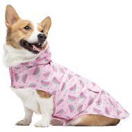 Canada Pooch Dog Raincoat, 16, Watermelons