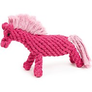 Zanies Rope Horse Dog Toy