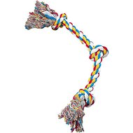 Zanies 2 Knot Rope Bone Dog Toy, 16-inch