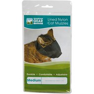 Guardian Gear Lined Nylon Cat Muzzle, Medium