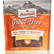 Triumph Grain-Free Turkey, Pea & Berry Recipe Jerky Dog Treats, 24-oz pouch